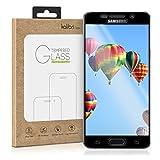 kalibri Folie kompatibel mit Samsung Galaxy A5 (2016) - 3D Glas Handy Schutzfolie - auch für gewölbtes Bildschirm