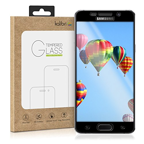 kalibri Folie kompatibel mit Samsung Galaxy A5 (2016) - 3D Glas Handy Schutzfolie - auch für gewölbtes Display