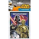Star Wars Invitations [8 Per Pack]