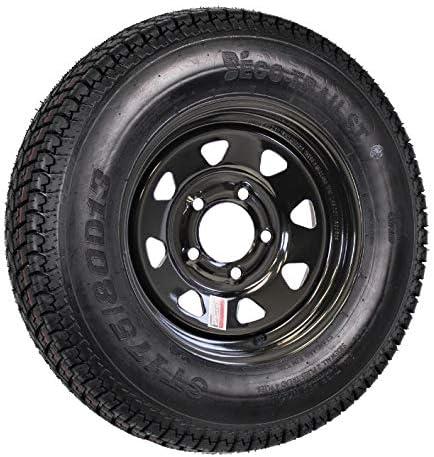 Trailer Tire Outstanding and Black Spoke Wheel Rim i 80D13 13 80 C Popular product 175 ST175