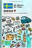 Suecia Mi Diario de Viaje: Libro de Registro de Viajes Guiado Infantil - Cuaderno de Recuerdos de Actividades en Vacaciones para Escribir, Dibujar, Afirmaciones de Gratitud para Niños y Niñas