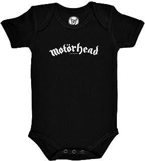 Metal Kids Motörhead Logo - Baby Body, mehrere Farben, Größen von 56 bis 86 0 bis 24 Monate, offizielles Band-Merch