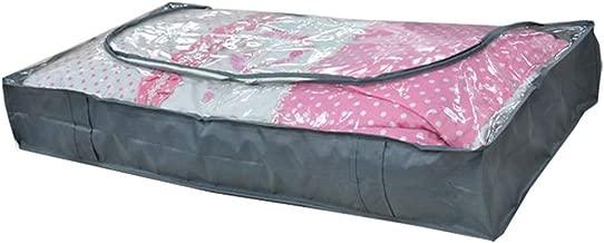 Bolsillos de almacenamiento con cremalleras, edredón extra grande, bolsillos grandes para guardar ropa, ropa de cama, edredón, mudanza, de mejor y cómodo tejido Oxford. Tamaño libre gris