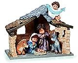 Nadal Figura Decorativa Paz en la Tierra, Resina, Multicolor, 16.00x33.00x27.50 cm