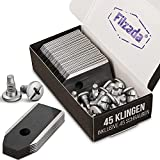 Filzada® Juego de 45 cuchillos de titanio negro...
