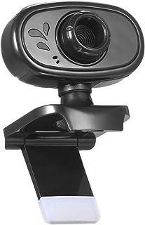 ウェブカメラ, WEBカメラ 420P 30万画素ウェブカム ストリーミング マイク内蔵 折り畳み式 USB給電 360°調整 プラグアンドプレー WinXP,Vista, Win7 8 10など互換性 イ家庭 会議用 PCカメラ,Webcam...