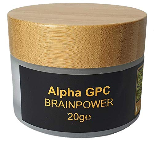 Alpha GPC - deluxe high brainfood - 20g AlphaGPC - im Glastiegel