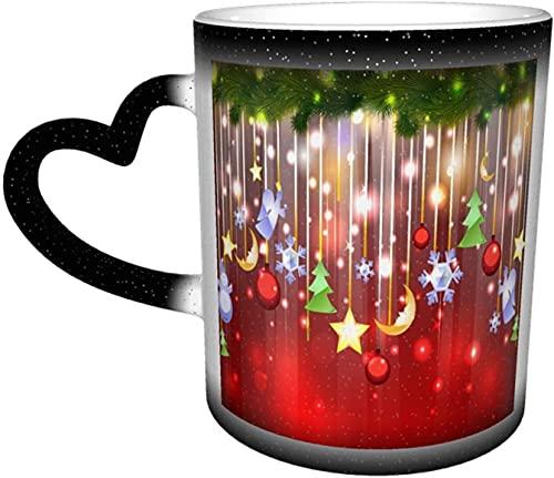 Tazza che cambia colore della zampa di cane nel cielo Tazze sensibili al calore in ceramica Tazza di scolorimento Tazze di caffè d'acqua Magia Arte divertente Regali personalizzati