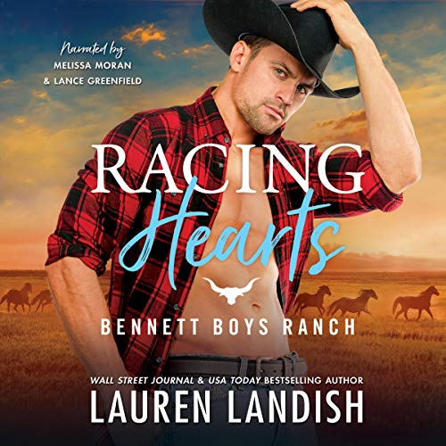 Racing Hearts: Bennett Boys Ranch cover art