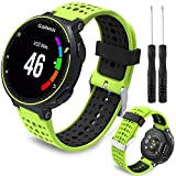 Th-some Correa para Garmin Forerunner 235 - Compatible con Forerunner 235 Correa de Reloj, Pulsera de Reemplazo Silicona Suave Sports Banda para Forerunner 235, 220, 230, 620, 630 y 735XT Smart Watch