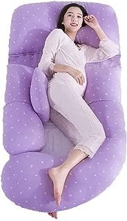 Pregnant Women Pillow Postpartum Breastfeeding Pillow Children's Fence Waist Side Sleeping Pillow, Linens, Maternity Pillow, Body Pillows for Adults (Color : A)