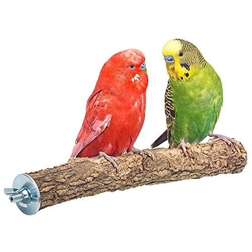 Vogelgaleria - Posatoio in sughero effetto tagliaunghie