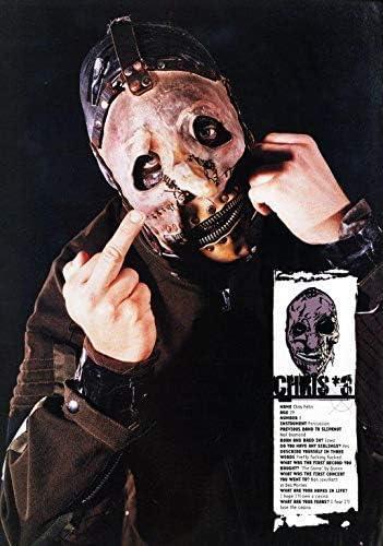 Desconocido Slipknot Chris Fehn 3 Póster Foto Iowa Máscara ...