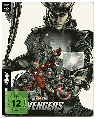 The Avengers - 4K UHD Mondo Steelbook Edition [Blu-ray]