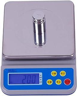 HYY-YY Báscula electrónica para el hogar, alimentos y cocina, 0,1 g, báscula de conteo, nido de pájaro, medicina china, báscula electrónica