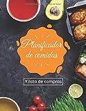 Planificador de comidas y lista de compras: Tu compañero de batch cooking para 52 semanas