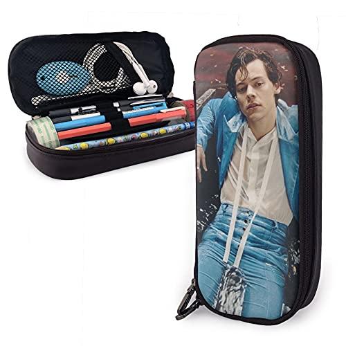 1-D One Direc-Tion - Bolsa de plástico para guardar lápices y lápices, diseño de Harry Styles ro-lling st-one