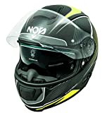 NOS Helmets Casco NS-6 XL Typhoon Yellow Matt