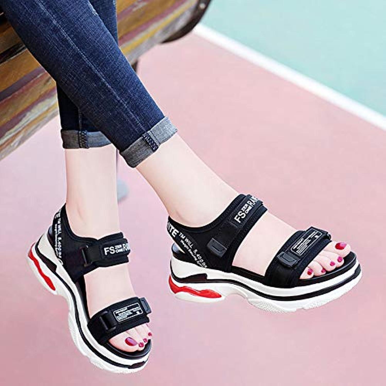 Shukun Sandalen für Damen Lässige Sport Sandalen Frauen