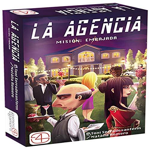 Games 4 Gamers Agencia. Mision: Embajada, Multicolor 4 Gamers GFGG4GAG001