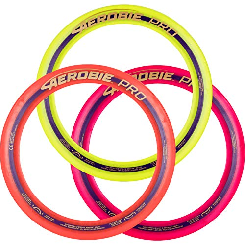 Aerobie 13quot Pro Ring  Set of 3 Colors may vary