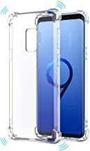 Crystal Clear Soft TPU Airbag Case with Shock Absorption Bumper Shockproof Protective Case for Galaxy S4 GT-I9500 I9505 I9506 I9515 I337