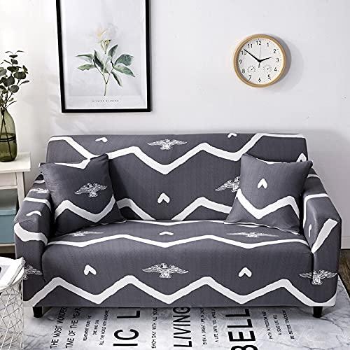 WXQY Funda de sofá de Spandex Funda de Muebles elástica para Sala de Estar Funda de sofá elástica Funda de sofá Funda de sofá sillón A5 2 plazas