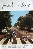 Paul McCartney Paul is Live Poster Drucken (60,96 x 91,44