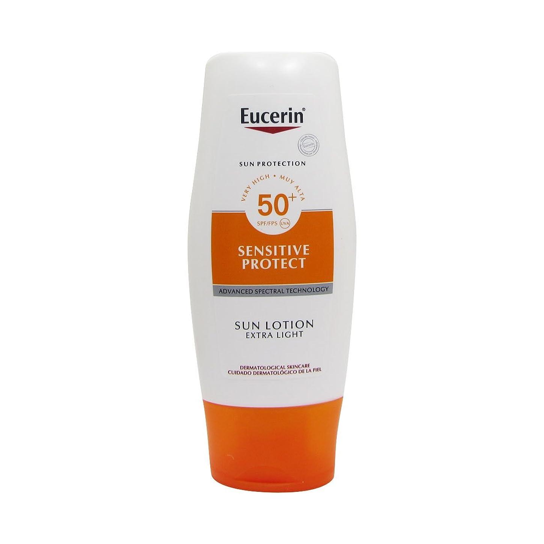 控えめな白内障一元化するEucerin Sun Extra Light Lotion Spf50 150ml [並行輸入品]