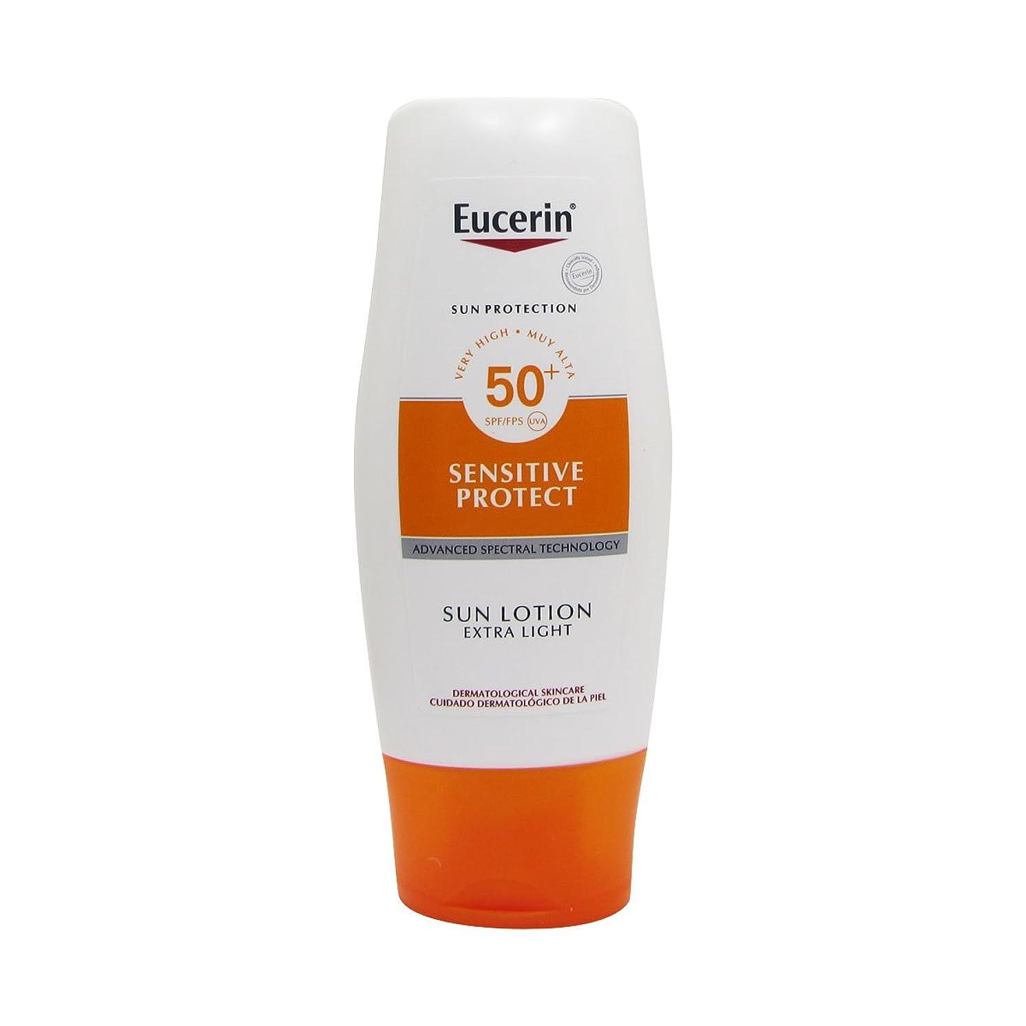 時々ミュージカル平方Eucerin Sun Extra Light Lotion Spf50 150ml [並行輸入品]