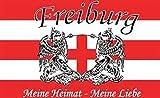U24 Fahne Flagge Freiburg Fanflagge Meine Heimat 90 x 150 cm