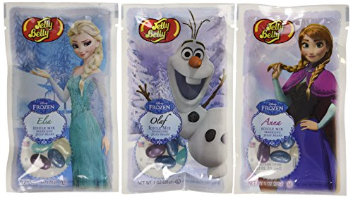 Jelly Belly Disney© Frozen Jelly Bean 1 oz Bag - 3 Pack - Official, Genuine, Straight from the Source