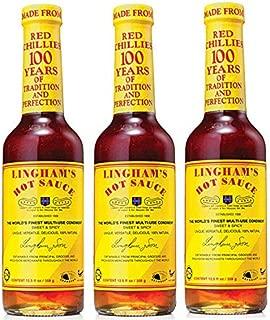 Lingham's Hot Sauce - Original 12.6 oz (Pack of 3)