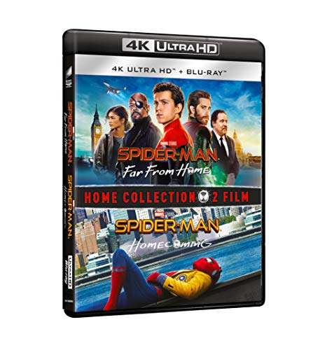 Spider-Man 4K Boxset: Spider-Man Homecoming + Spider-Man Far From Home (Box Set) (4 Blu Ray)