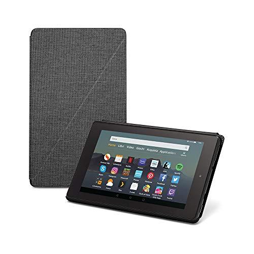 Custodia per tablet Fire 7 (compatibile con dispositivi di 9ª generazione, modello 2019), Nero
