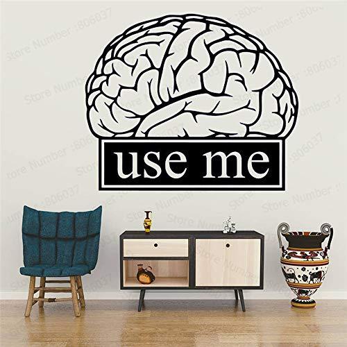 yaonuli muurstickers hersenen klas werk opvoedende motivatie kantoor signe wetenschap zelfklevend leren decoratie school kantoor muur