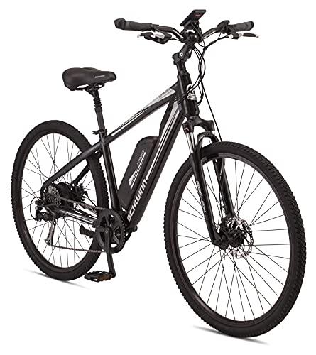 Schwinn Voyageur Electric Bike, Hub-Drive, Large Step-Through Frame, Black -  Pacific Cycle, Inc., S7515LGAZ