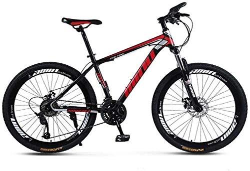 Mountain bike for adulti Mountain Bike 26 pollici 30 velocità una ruota fuori strada a velocità variabile Ammortizzatore Uomini e Donne Bike Uomo della bicicletta a un percorso, Trail e montagne