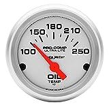 Auto Meter 4347 Ultra-Lite Electric Oil Temperature Gauge...