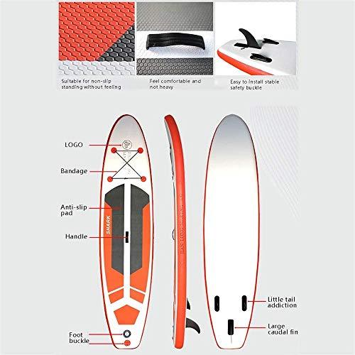 COUYY Soft Top Tabla de Surf, Surf Junta de Espuma Tabla de Principiante del esquí acuático Junta Tabla de Surf esquí de Agua Junta Adultos Profesional Paddle Junta Permanente Paddle Board