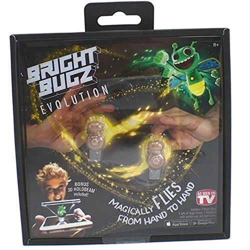 Bright Bugs Evolution Toys - Experience the Magic of Light-Up Bugs - Learn Cool Illusion Tricks - Try the Holobeam for Even More Fun - Ages 3 and Up - Yellow