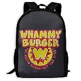 Whammy Burger Printed School Backpack Water Resistant Travel Rucksack Bag Laptop Lightweight...