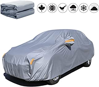 Special Car Cover for Mercedes-Benz C 4door 2014-2019, PEVA Waterproof Auto Exterior Covers Sun and UV Protection Outdoor ...