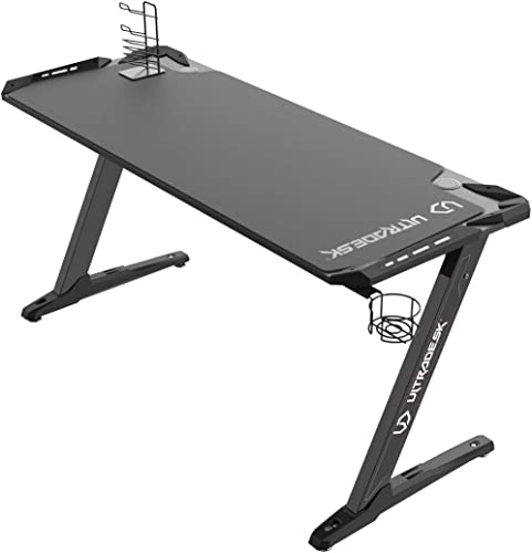 grandes ahorros Ultradesk Space XXL negro - Mesa de de de Juegos para Ordenador  excelentes precios