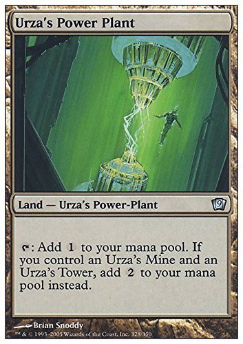Magic The Gathering - Urza39;s Power Plant - Ninth Edition