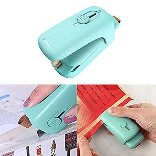 Queta Folienschweißgerät Mini Bag Sealer, Vakuumierer 2 in 1(Versiegeln-Öffnen) Beutel Versiegelungsgerät Handlicher Tüten Verschweißer Verschließen für Lebensmittelbeutel