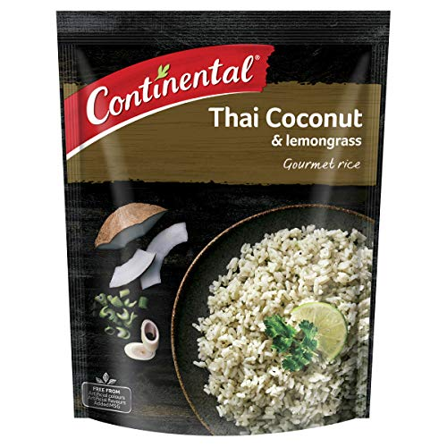 CONTINENTAL Gourmet Rice (Side Dish)   Thai Coconut & Lemon Grass, 115g