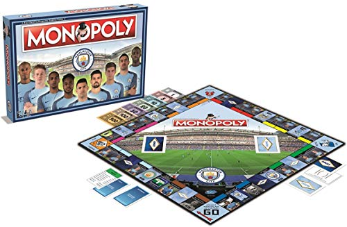 Monopoly Manchester City FC wersja angielska