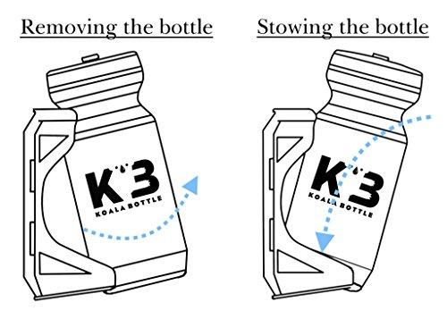 KOALABOTTLE(コアラボトル)KOALABOTTLEサイクルボトルWatergateキャップ仕様/マグネティックリング付き/(22oz/650ml)KBS0006RD22OZレッド22oz/650ml