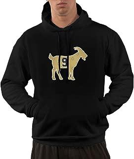 Men's Funny Drew -Brees Goat Hooded Sweatshirt Black